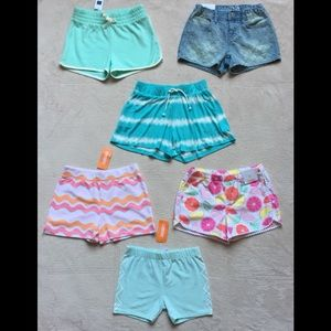GYMBOREE & Gap Kids Girls Shorts, Size 8 New - 6
